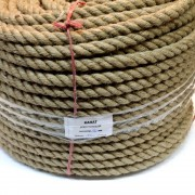 бухта канат джутовый канат декоративный строительный канат джутовая веревка веревка строительная