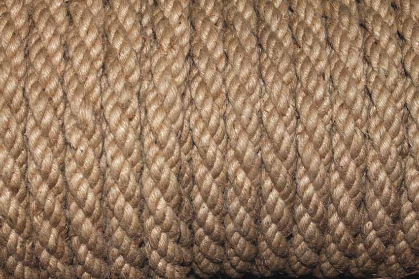 бухта канат джутовый двойной кабельтовой свивки декоративный канат грузоподъемный канат морской канат канат строительный