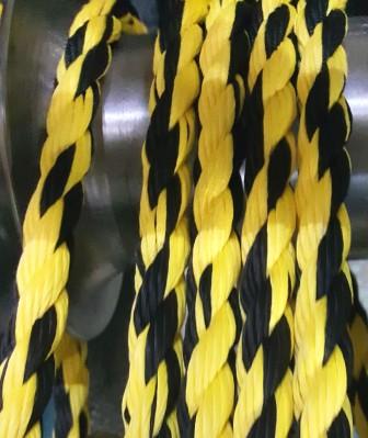 Канат черно-желтый-1