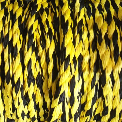 Канат черно-желтый-2