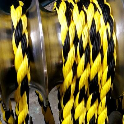 Канат черно-желтый-3