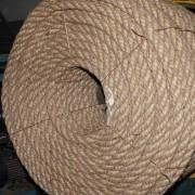 бухта канат джутовый канат декоративный канат двойной свивки канат грузоподъемный декоративный канат
