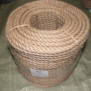 бухта веревка строительная джутовая веревка канат джутовый канат натуральный строительный канат