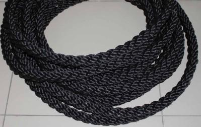 Канат ПП черн кабельт д40-3