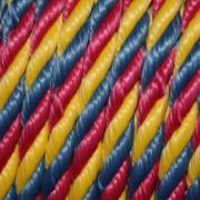 канат цветной тросовой свивки канат декоративный красивые веревки