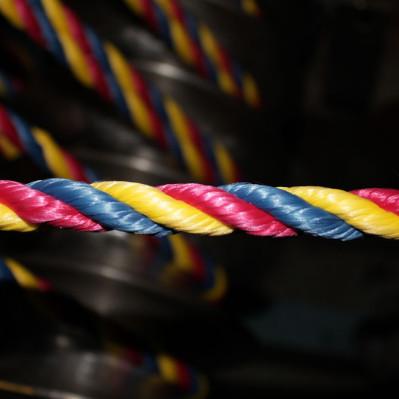 Канат ПП цветн д 16 мм – 4