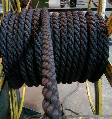 Канат ПП черный кабельт свив д 32 мм – 3